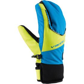 Viking Europe Fin Lobster Handschoenen Kinderen, blauw/geel